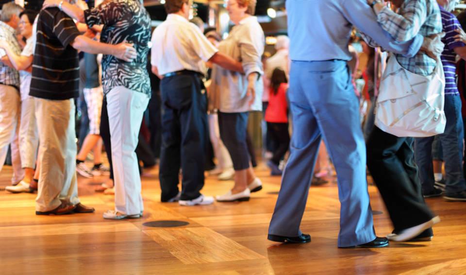 ältere Tänzer