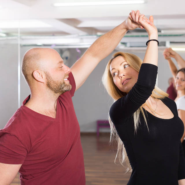 Salsa-Tänzer